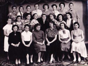 1959 р., Педагогічний факультет, роки навчання групи:1958-62 (куратор - Сепчева З.С.)