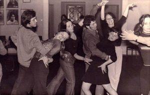1973 рік. Педагогічний інститут. Школа бальних танців.