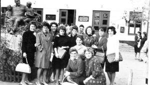 Випуск 1966 року. Майбутні вчителі