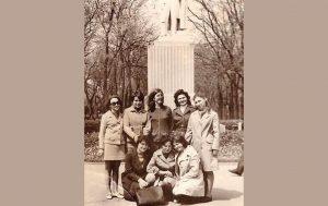 1976 рік. Студентки факультету іноземних мов, французьке відділення.