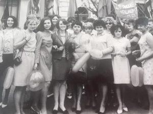 Студентки Ізмаїльського педагогічного інституту 1 травня 1969 р.