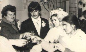 Студентське весілля 70-і роки