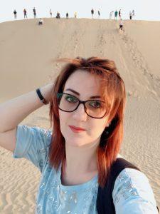 Cофія Зельфімян - випускниця факультету іноземних мов